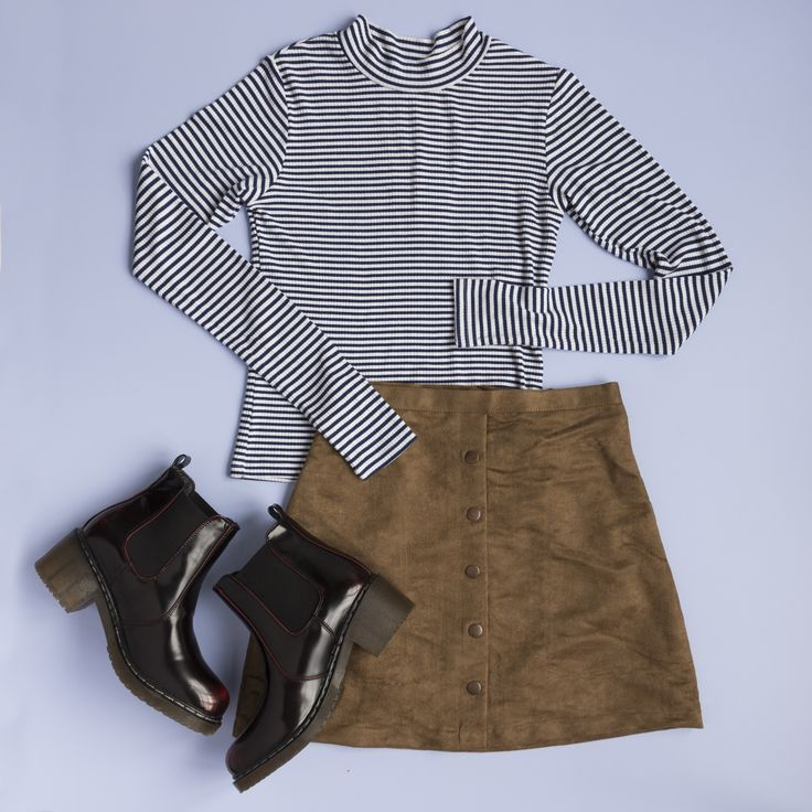 Flatlay for Sybilla, a teen fashion brand.