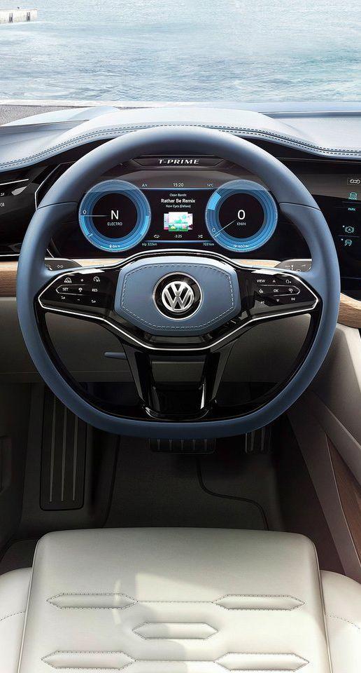 Volkswagen T-Prime Concept 2016 Cluster