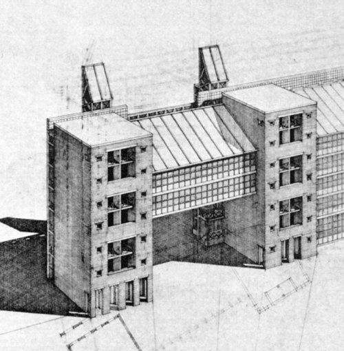 Arch. Aldo Rossi   Sudliche Friedrichstadt   via Archinform