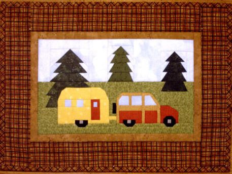 Camper  (shown as a pieced quilt, but I would do it as an applique