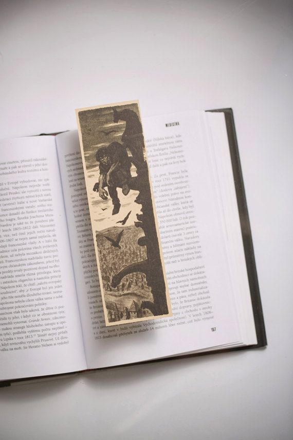 The Hunchback of Notre-Dame Bookmark by Bookmarklovers on Etsy