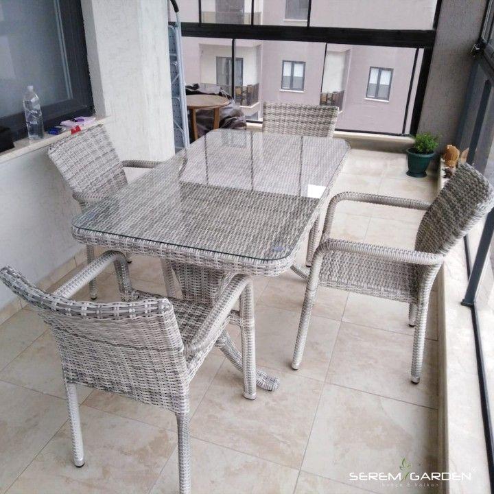 losso rattan masa takimi mobilya fikirleri ev dekoru mobilya