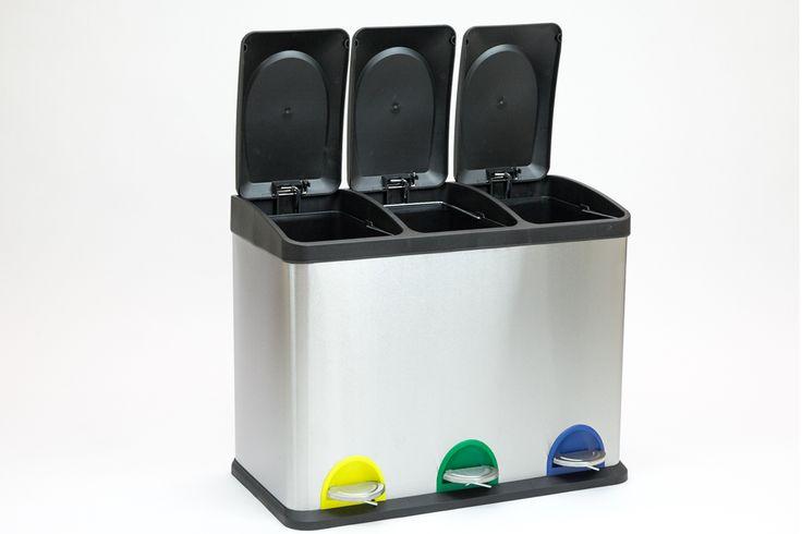 Caixote do Lixo Reciclagem | A Loja do Gato Preto | #alojadogatopreto | #shoponline | referência 78336420