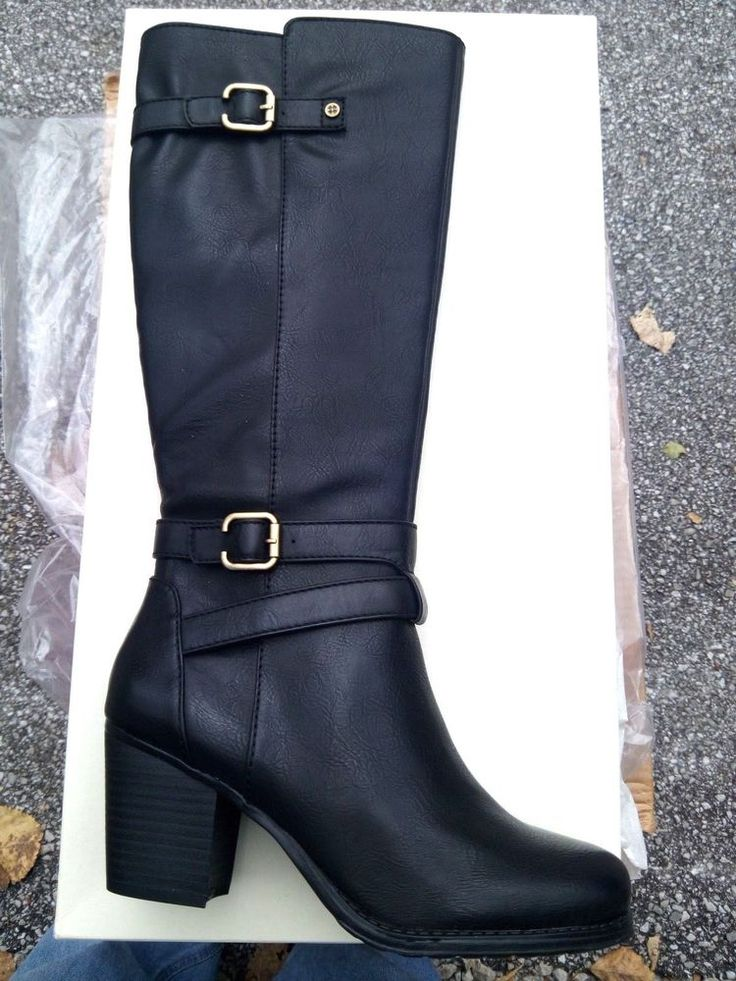 Womens Boots Naturalizer Tricia Black Smooth