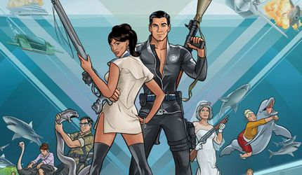 Archer Season 4, Episode 1: Fugue  Riffs (Link: http://www.blueblood.net/2013/01/archer-s4e1-fugue-riffs/) Archer is a point of contention in my otherwise harmonious household. Wife hates it. Compares it to Family Guy, which in my house is like Godwins Law. Her point is that its a one-joke shambles full of dumb sexist tropes and loathsome characters. Which is weird, because she likes... - Blue Blood Magazine Gothic Punk Photos