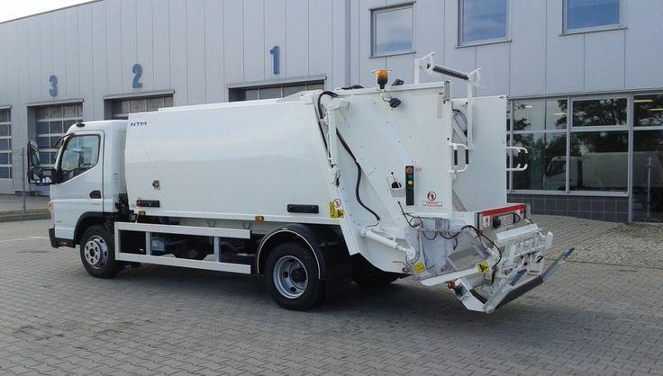NTM K-MIDI 6m3 FUSO CANTER 8,5t NTM K-Mini małe śmieciarki, small refuse truck, klein Kommunalfahrzeuge, Benne a ordures, Recolectores, piccoli camion
