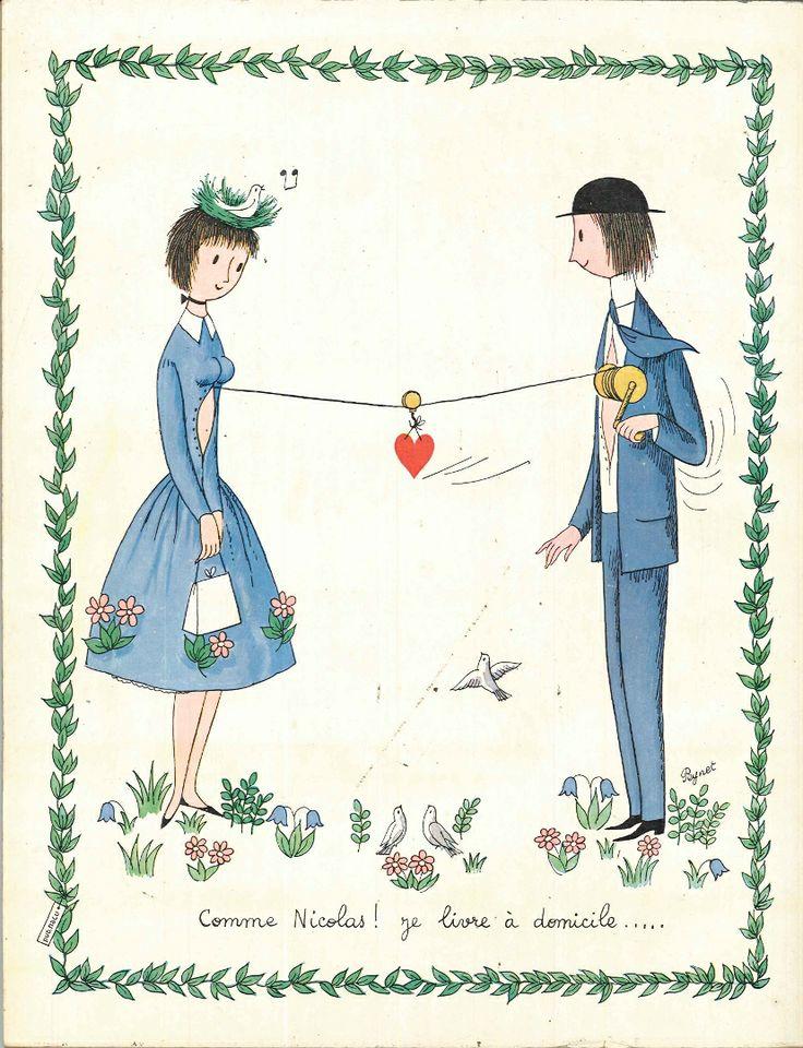 Comme Nicolas, je livre à domicile - Réalités n°143, décembre 1957.