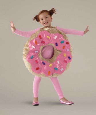 "sprinkle donut girls costume - You'll have a ""hole"" lot of fun in this whimsical costume.#halloween #girlscostume"