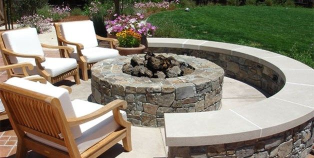 Adding a fire pit to your backyard? Check out these tips for some inspiration and for proper installation. Don't forget to call us to have our qualified technicians install the unit for you: https://www.landscapingnetwork.com/fire-pits/