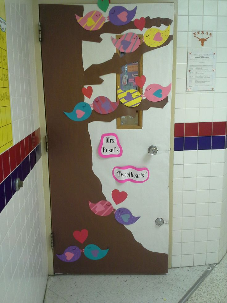 Classroom Ideas For Valentines Day ~ Valentines day classroom door decoration