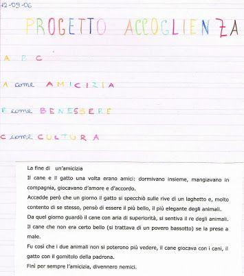 Primi giorni di scuola in classe quarta - italiano - Didattica Scuola Primaria