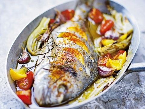 Heerlijke vis met pittig kantje