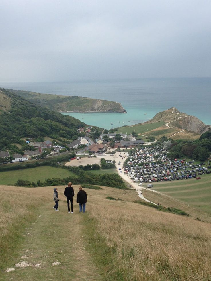 wanderthewood: The Walk to Lulworth Cove, Dorset, England by petedx