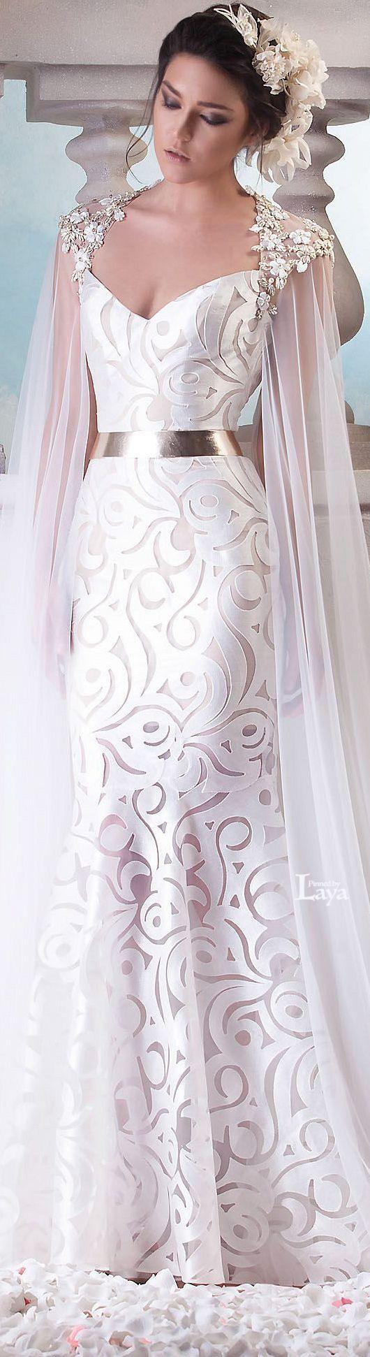 ♔LAYA♔HANNA TOUMA S/S 2015 COUTURE♔ she looks like a godess. I love it