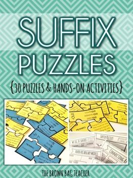 Prefixes Crossword Puzzle- TONS of printables to keep children in ...
