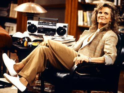 Yes. I'm really thinking Murphy Brown to be the throw-back inspiration for future Fall/Winter collections.