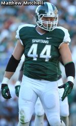 Three Spartans - senior linebacker Max Bullough, senior cornerback Darqueze Dennard and junior defensive end Marcus Rush - have been named to the Bronko Nagurski Trophy Watch List, the Football Writers Association of America announced on Thursday. The award is given annually to the defensive player of the year in college football.