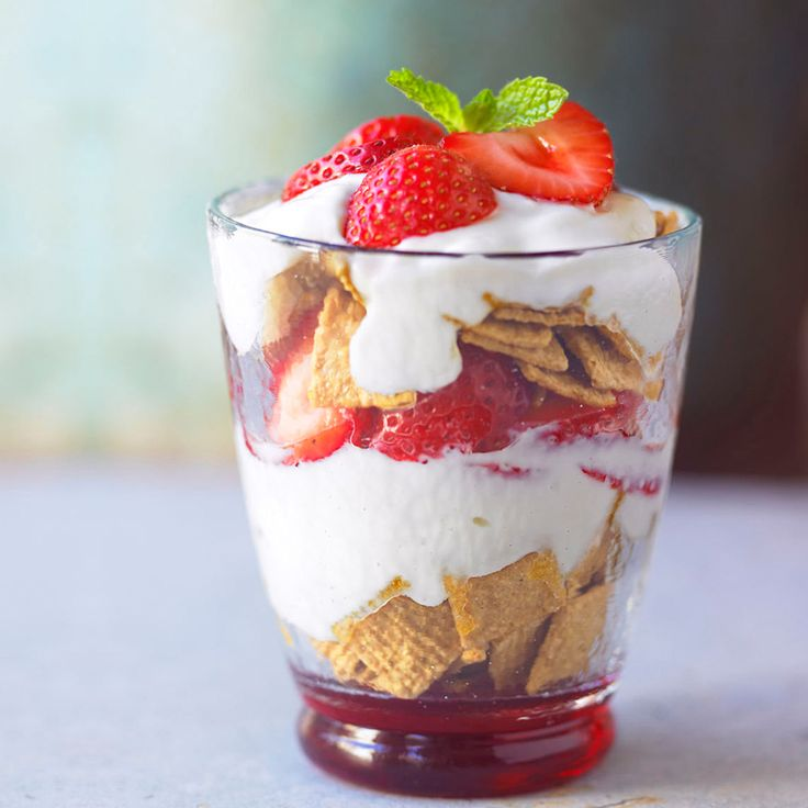 A Strawberry Breakfast Parfait Recipe for breakfast or any occasion. Made with fresh California Strawberries, this recipe is healthy and delicious!