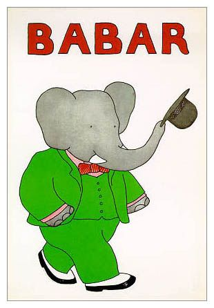 Babar, the loveliest elephant king ever.