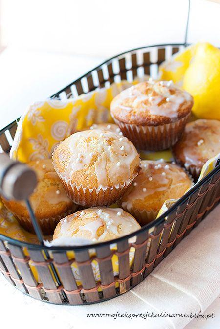 Muffinki cytrynowe (fresh lemon muffins)