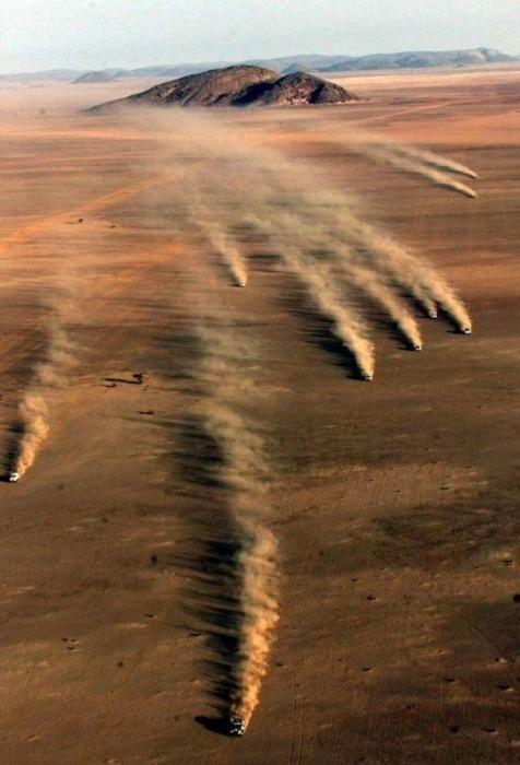 Carrera por el desierto