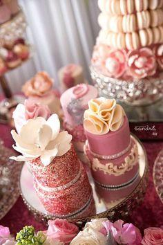 Pink Floral Princess birthday party via Kara's Party Ideas KarasPartyIdeas.com Cake, decor, favors, supplies, desserts, food, invitation, tutorials, and more! #princessparty #princessbirthdayparty #floralprincess #floralprincessparty (18)