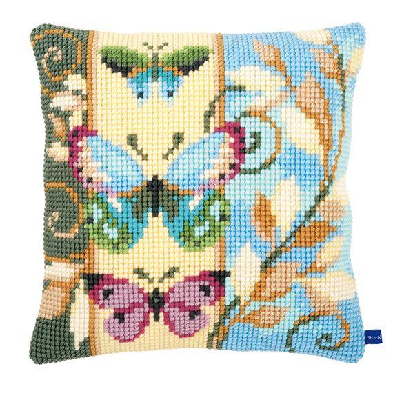 Набор  для вышивания крестиком VERVACO. Вервако Декоративные бабочки PN-0154716