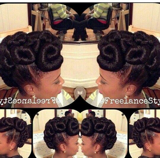 440 best natural hair images on pinterest hairstyles protective kanekalon updo pmusecretfo Images