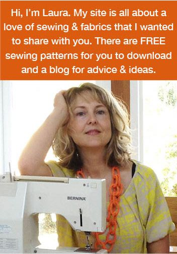 Sewing website with free patterns and tutorials