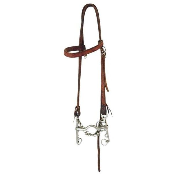 Vintage Western Bridle and Bit (€80) ❤ liked on Polyvore featuring home, home decor and curiosities