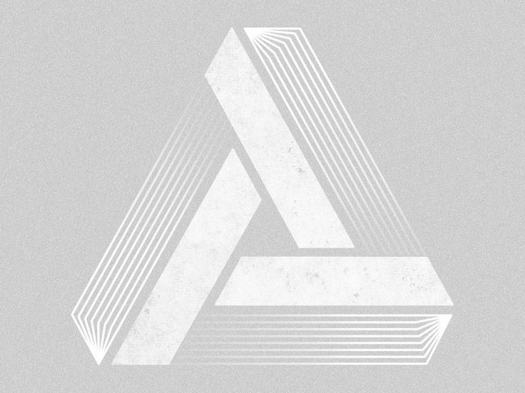 Blending lines in to Penrose Triangle