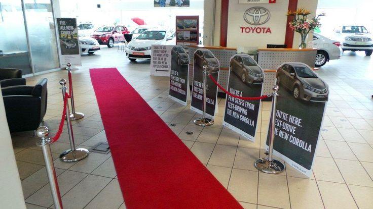 Toyota Melrose Corolla Launch