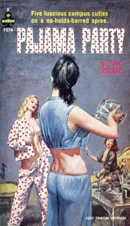 Pijama Party #pulp #fiction #art
