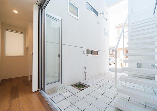 中庭と3つのテラスのある家・間取り(埼玉県桶川市)   注文住宅なら建築設計事務所 フリーダムアーキテクツデザイン
