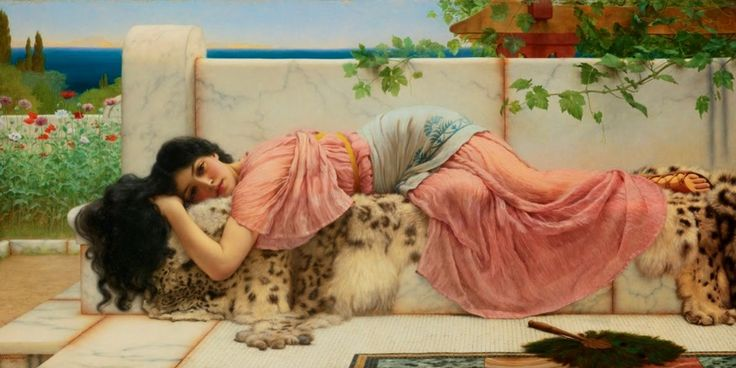 When the Heart is Young_John William Godward