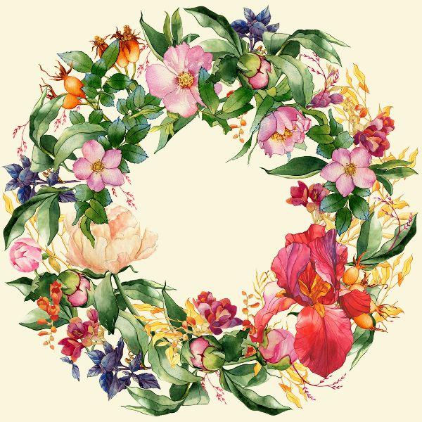 Пошаговая демонстрация изображения цветов на примере пионов с комментариями автора по полному циклу работы: от подготовки материалов до завершения целой работы.