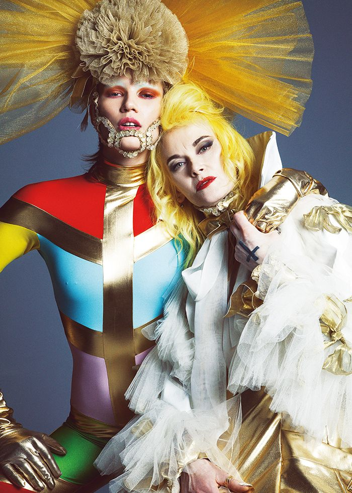 Paper Magazine:  The Beautiful Freaks of London's Style Scene text by Nathalie Olah / photographed by Louie Banks / styled and produced by David Motta