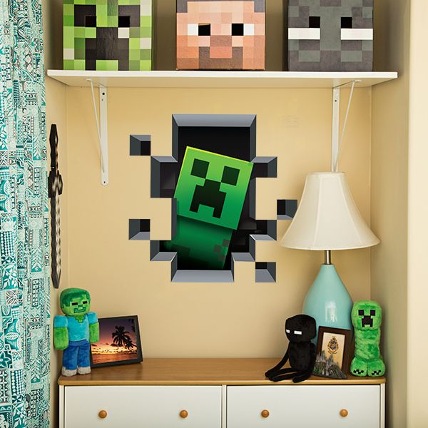 J!NX : Minecraft Wall Clings Creatures 4-Pack