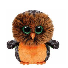 Petite peluche TY Beanie Boos Midnight the Owl