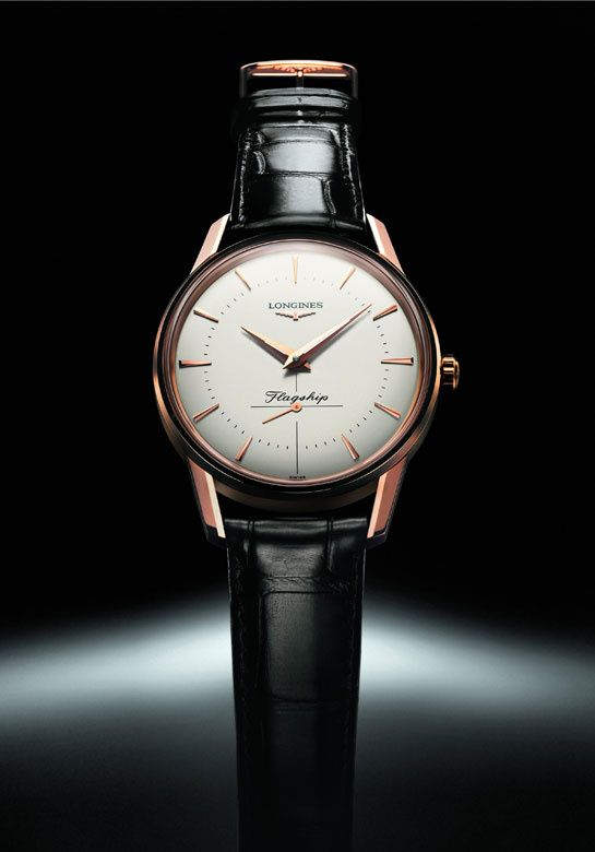 Longines http://www.vogue.fr/joaillerie/shopping/diaporama/a-l-heure-masculine/11810/image/697309#longines-montre-homme-conquest-heritage