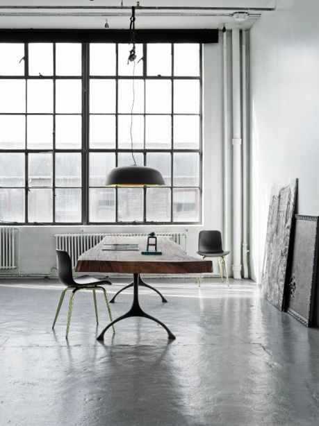 Spacious loft workspace. Join and get your exclusive subscription of elevated essentials for design enthusiasts @ minimalism.co