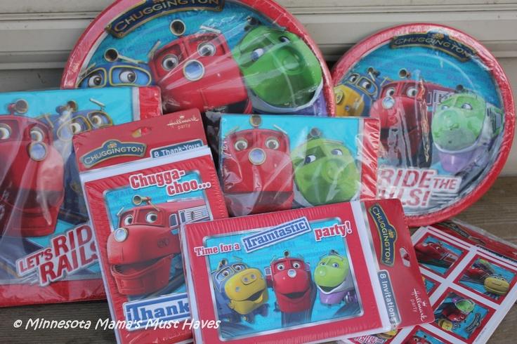 Chuggington Birthday Party Supplies!