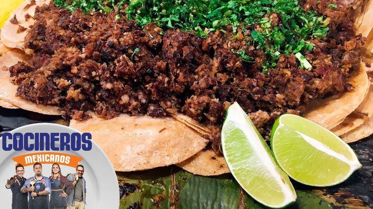 Receta: Tacos de cabeza de res   Cocineros Mexicanos