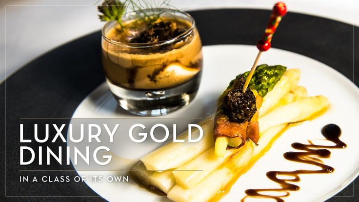 Luxury Gold Dining