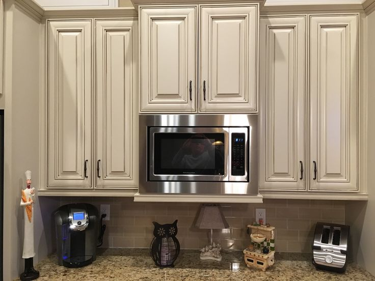 Custom Trim Kit For A Kitchenaid Microwave Model
