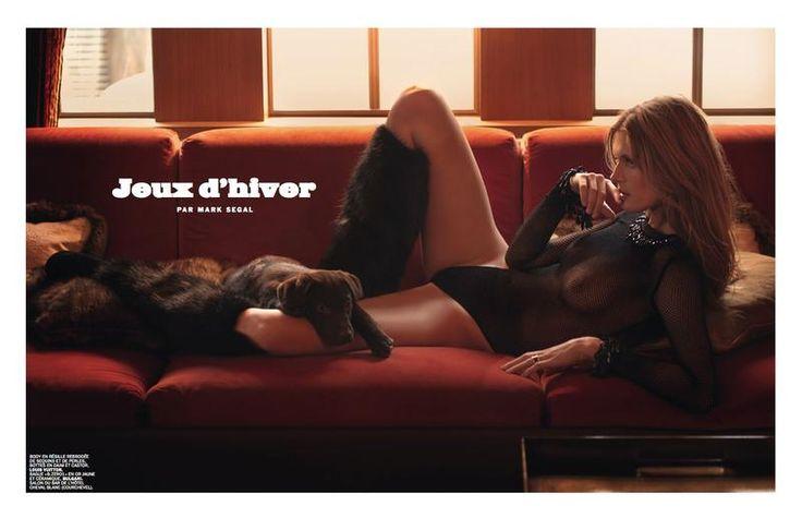 Lui Magazine France - Jeux d'Hiver by Mark Segal  Malgosia Bela...