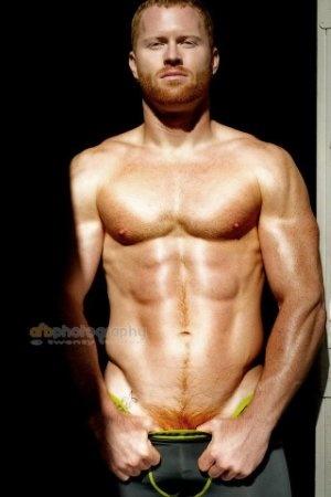 DAMN I love ginger men. #GingerFetish #Hunk