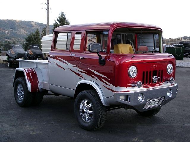 jeep fc 150 for sale car interior design. Black Bedroom Furniture Sets. Home Design Ideas