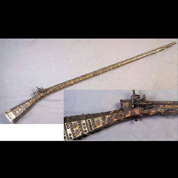 17. Yüzyıl Osmanlı tüfekleri #tarihintozu #tarih #history #silah #tüfek #osmanlı #ottoman #ottomanempire