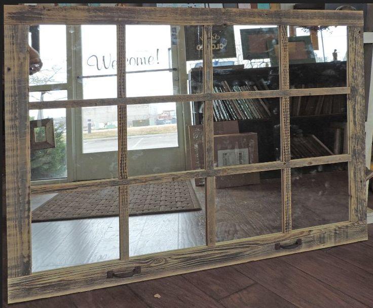 Diy mirror window frame
